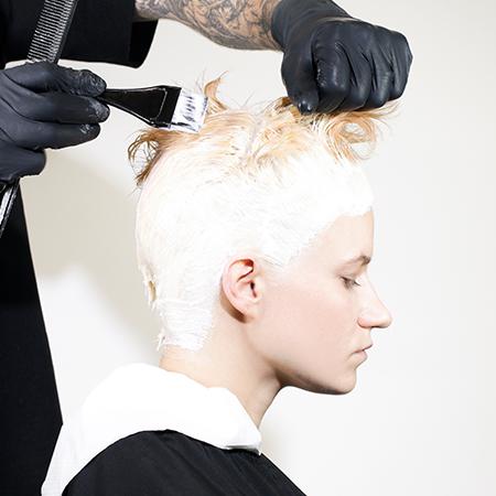 KEEN HAIR STEP BY STEP BLEACHING