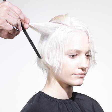 KEEN HAIR STEP BY STEP CUT